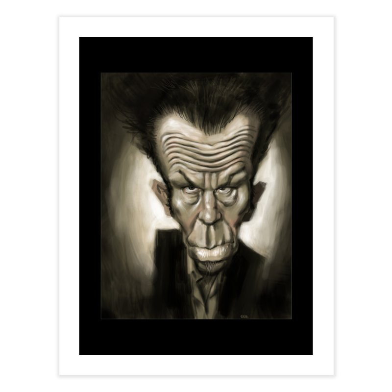 Tom Waits Home Fine Art Print by stephencase's Artist Shop