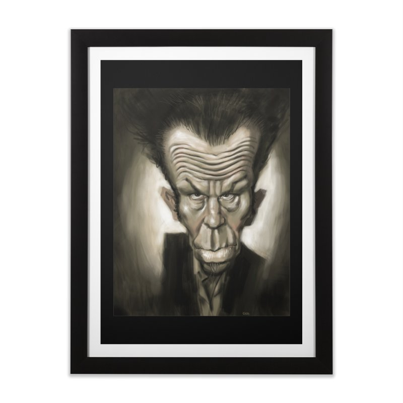 Tom Waits Home Framed Fine Art Print by stephencase's Artist Shop