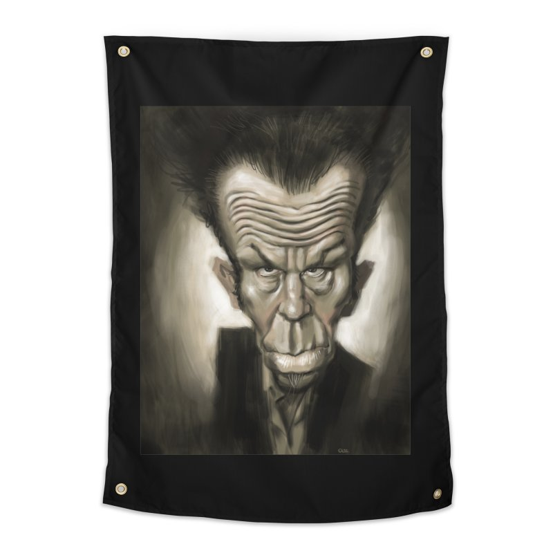 Tom Waits Home Tapestry by stephencase's Artist Shop