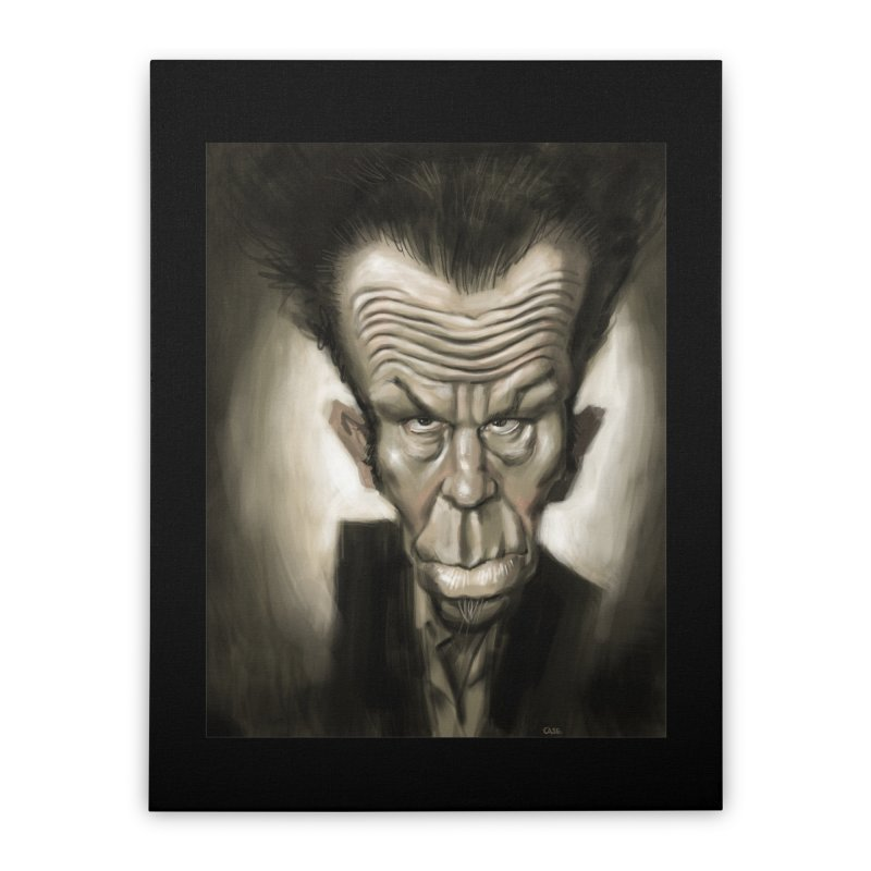 Tom Waits Home Stretched Canvas by stephencase's Artist Shop