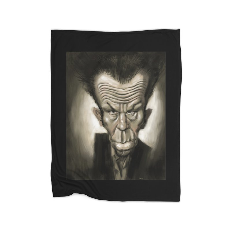 Tom Waits Home Blanket by stephencase's Artist Shop