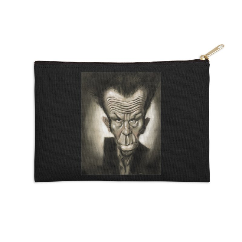 Tom Waits Accessories Zip Pouch by stephencase's Artist Shop