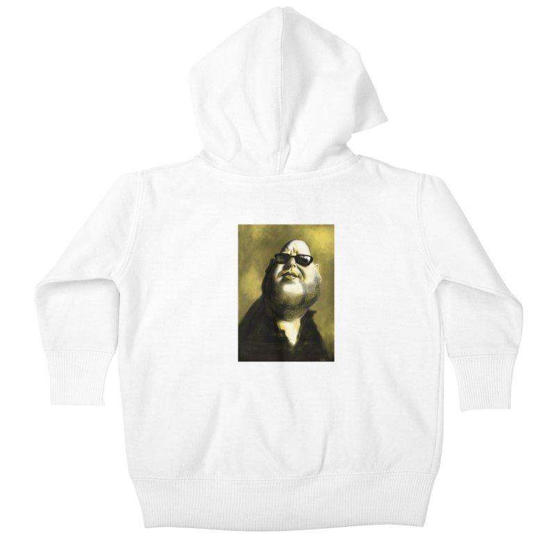 Frank Black Kids Baby Zip-Up Hoody by stephencase's Artist Shop