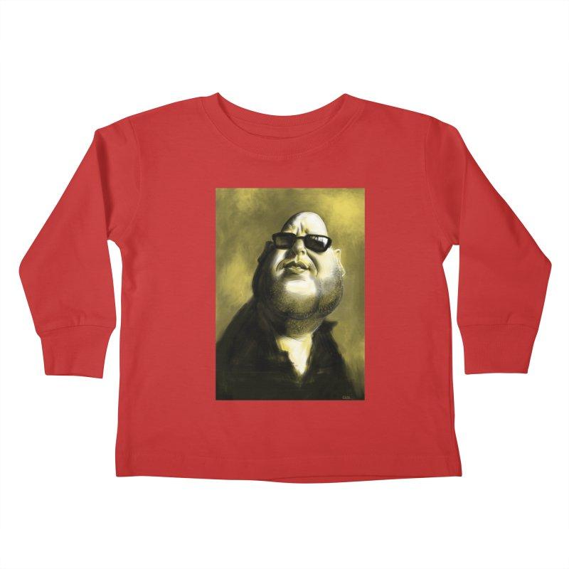 Frank Black Kids Toddler Longsleeve T-Shirt by stephencase's Artist Shop