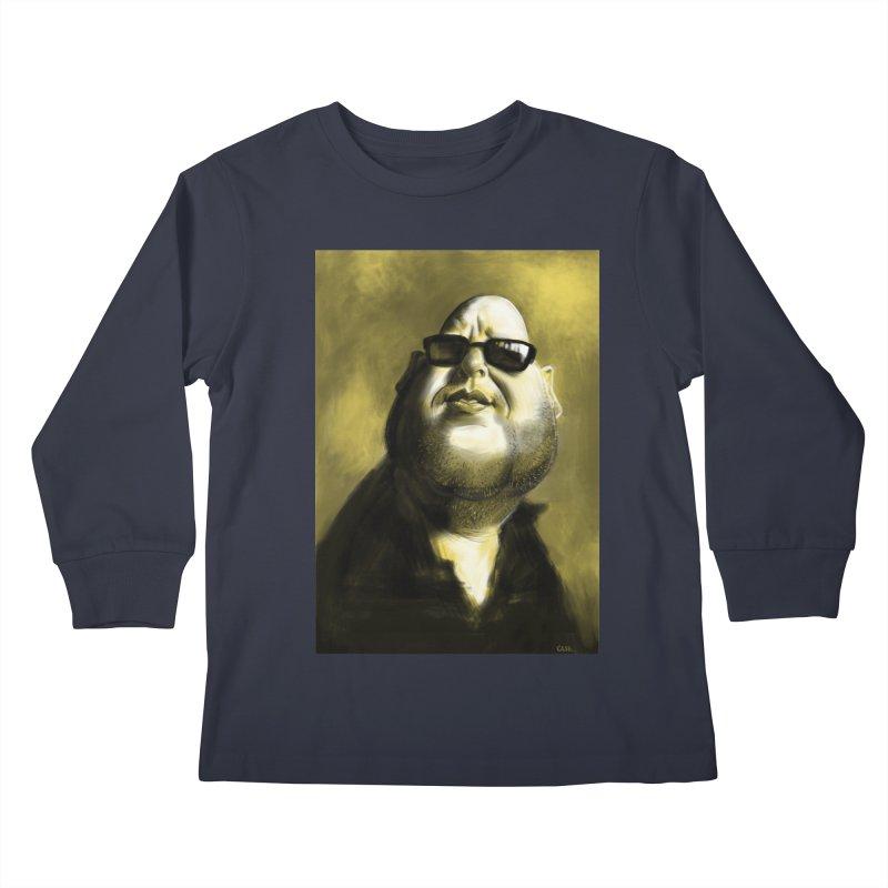 Frank Black Kids Longsleeve T-Shirt by stephencase's Artist Shop