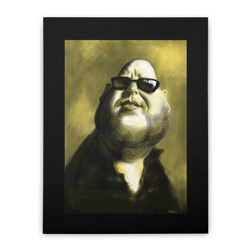 Frank Black Home Stretched Canvas by stephencase's Artist Shop