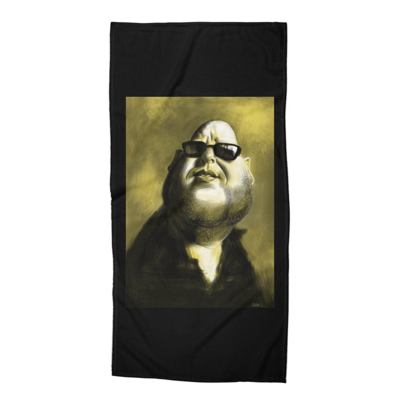 Frank Black Accessories Beach Towel by stephencase's Artist Shop