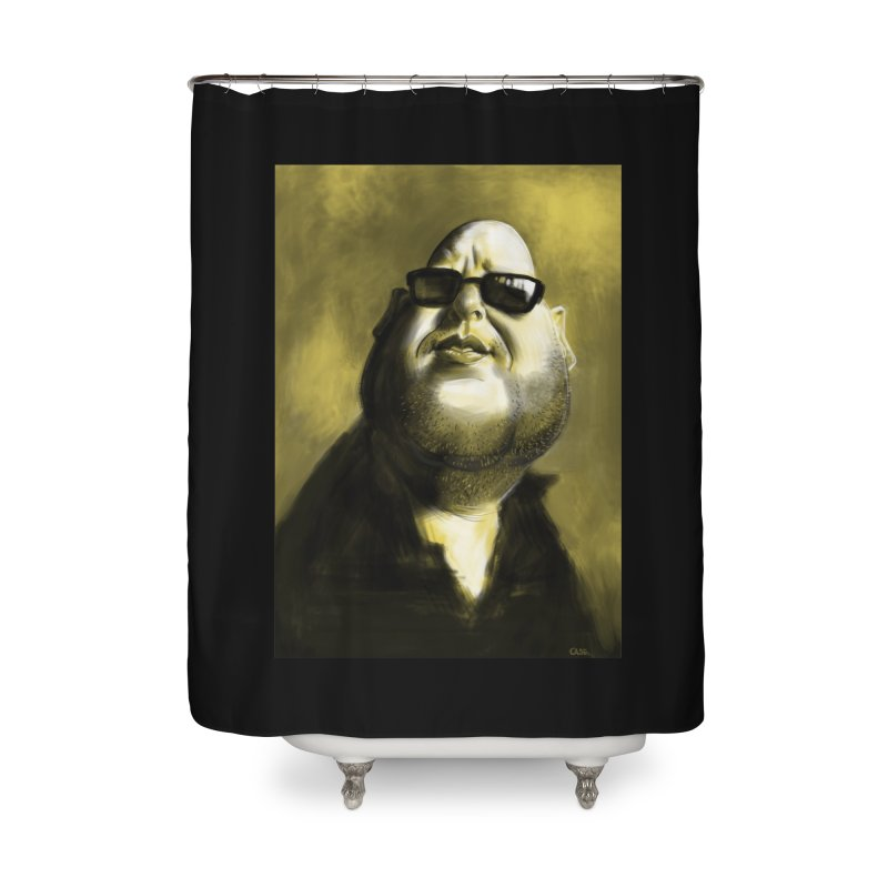 Frank Black Home Shower Curtain by stephencase's Artist Shop