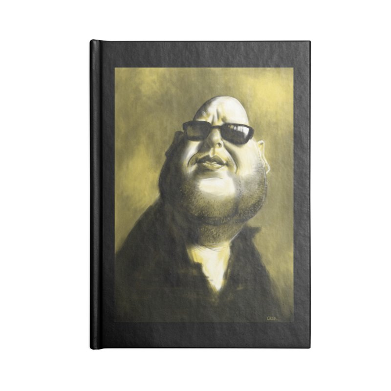 Frank Black Accessories Notebook by stephencase's Artist Shop