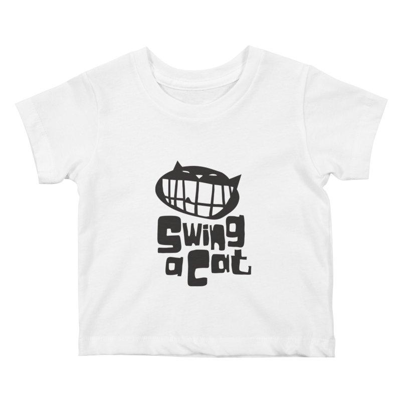 Swing a Cat Kids Baby T-Shirt by stephencase's Artist Shop