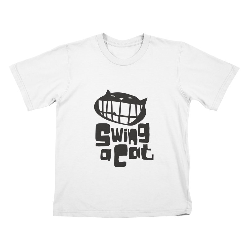 Swing a Cat Kids T-Shirt by stephencase's Artist Shop
