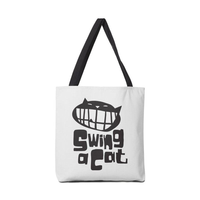 Swing a Cat Accessories Bag by stephencase's Artist Shop
