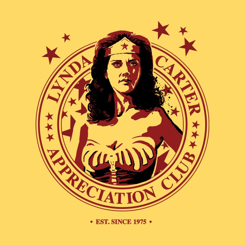 Lynda Carter Appreciation Club None  by stephencase's Artist Shop