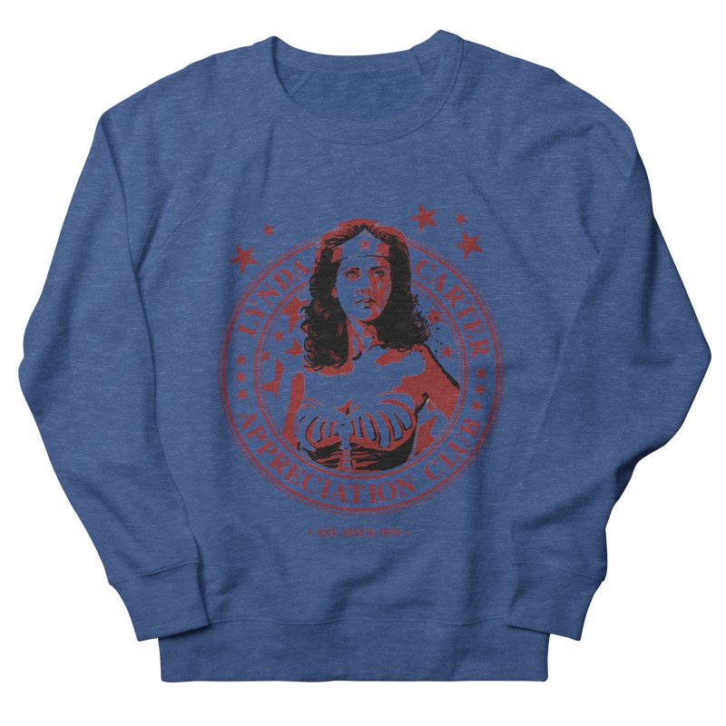 Lynda Carter Appreciation Club Men's Sweatshirt by stephencase's Artist Shop