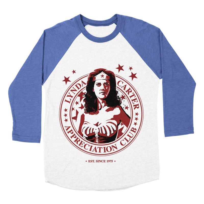 Lynda Carter Appreciation Club Women's Baseball Triblend T-Shirt by stephencase's Artist Shop