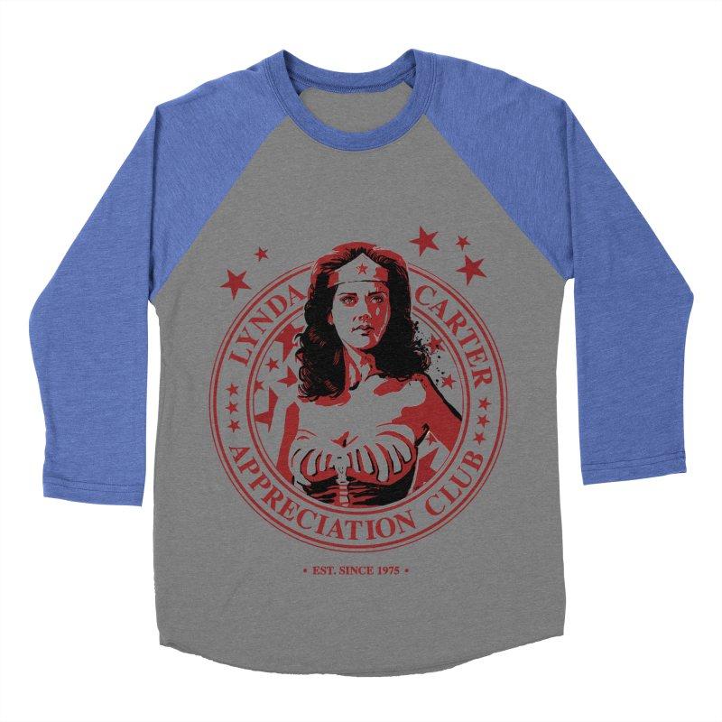 Lynda Carter Appreciation Club Men's Baseball Triblend T-Shirt by stephencase's Artist Shop