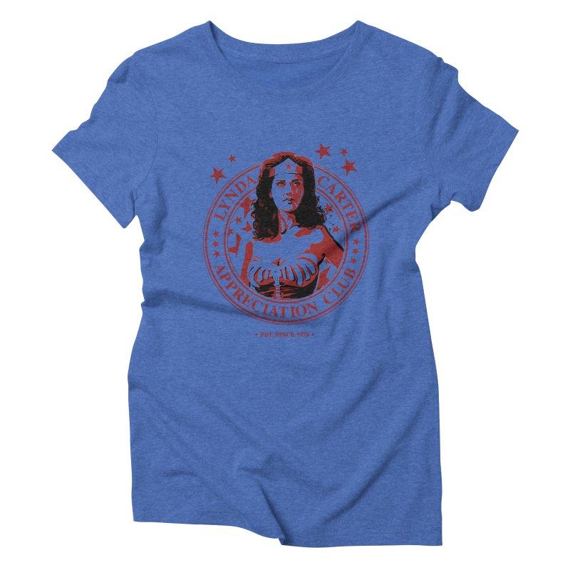 Lynda Carter Appreciation Club Women's Triblend T-shirt by stephencase's Artist Shop