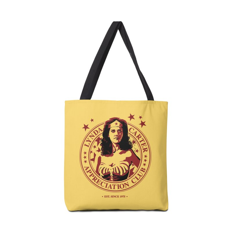 Lynda Carter Appreciation Club Accessories Bag by stephencase's Artist Shop