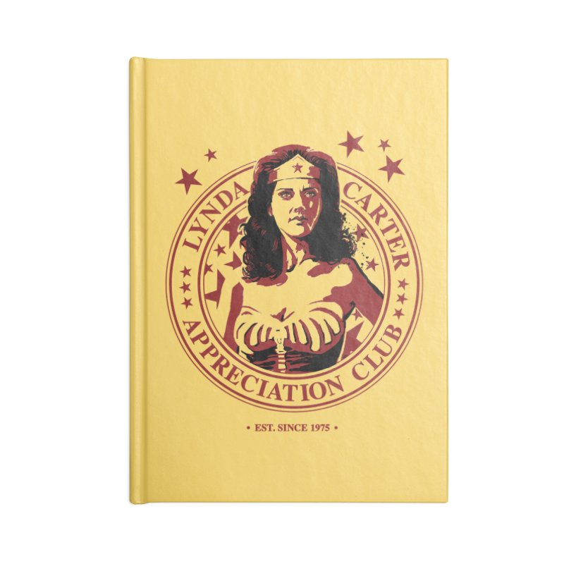 Lynda Carter Appreciation Club Accessories Notebook by stephencase's Artist Shop