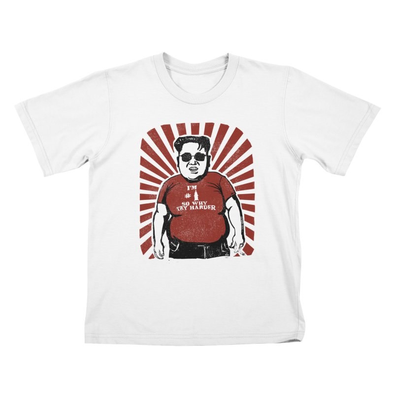 Fat Boy Kim Kids T-shirt by stephencase's Artist Shop