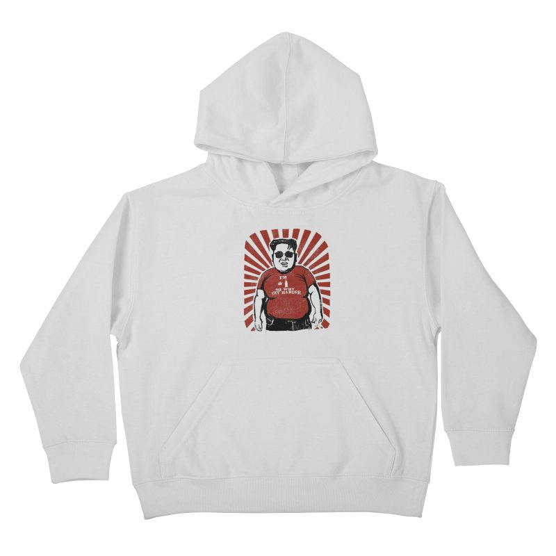 Fat Boy Kim Kids Pullover Hoody by stephencase's Artist Shop