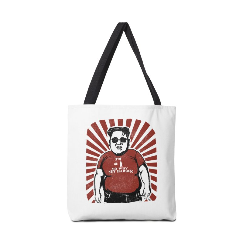 Fat Boy Kim Accessories Bag by stephencase's Artist Shop