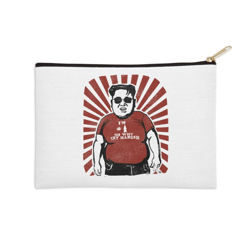Fat Boy Kim Accessories Zip Pouch by stephencase's Artist Shop