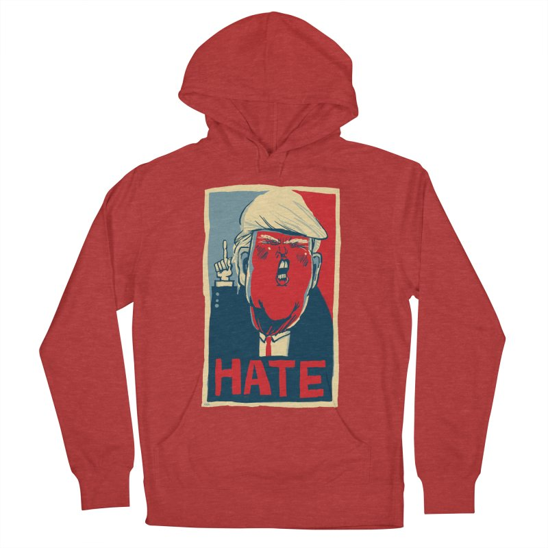 Donald Trump HATE Women's Pullover Hoody by stephencase's Artist Shop
