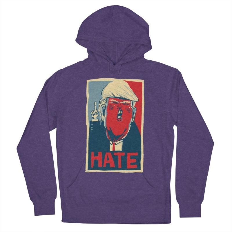 Donald Trump HATE Men's Pullover Hoody by stephencase's Artist Shop