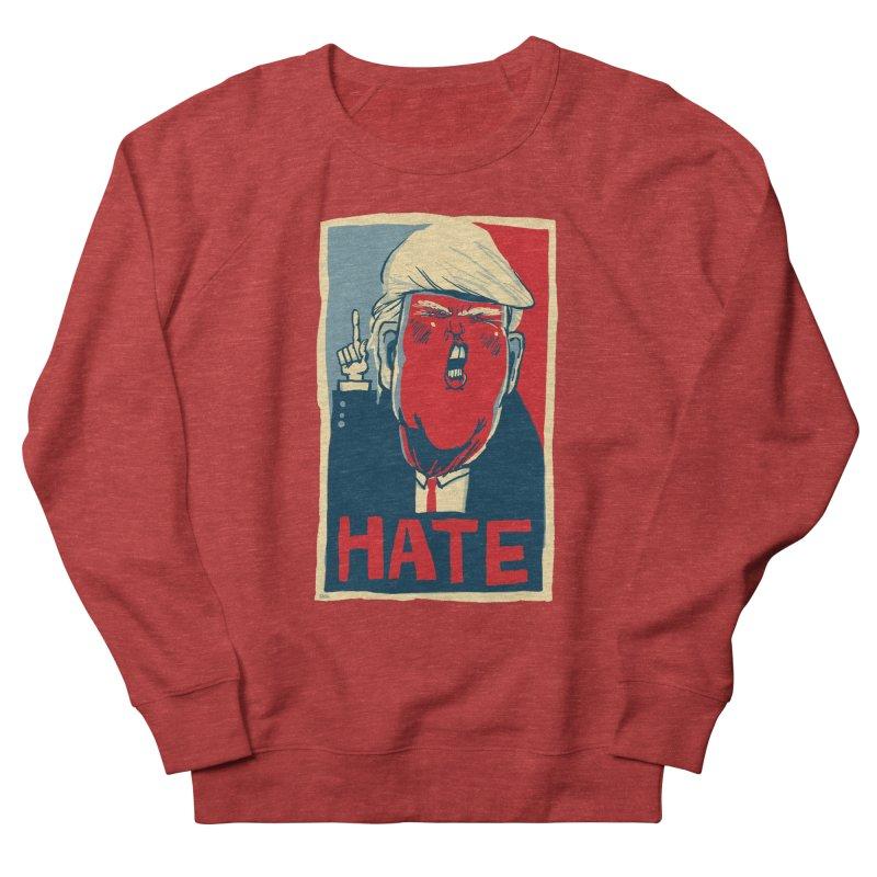 Donald Trump HATE Women's Sweatshirt by stephencase's Artist Shop