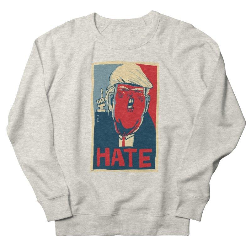Donald Trump HATE Men's Sweatshirt by stephencase's Artist Shop