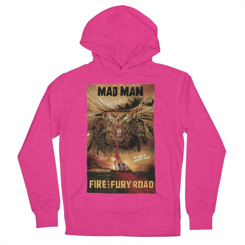 Fire & Fury Road Men's Pullover Hoody by stephencase's Artist Shop