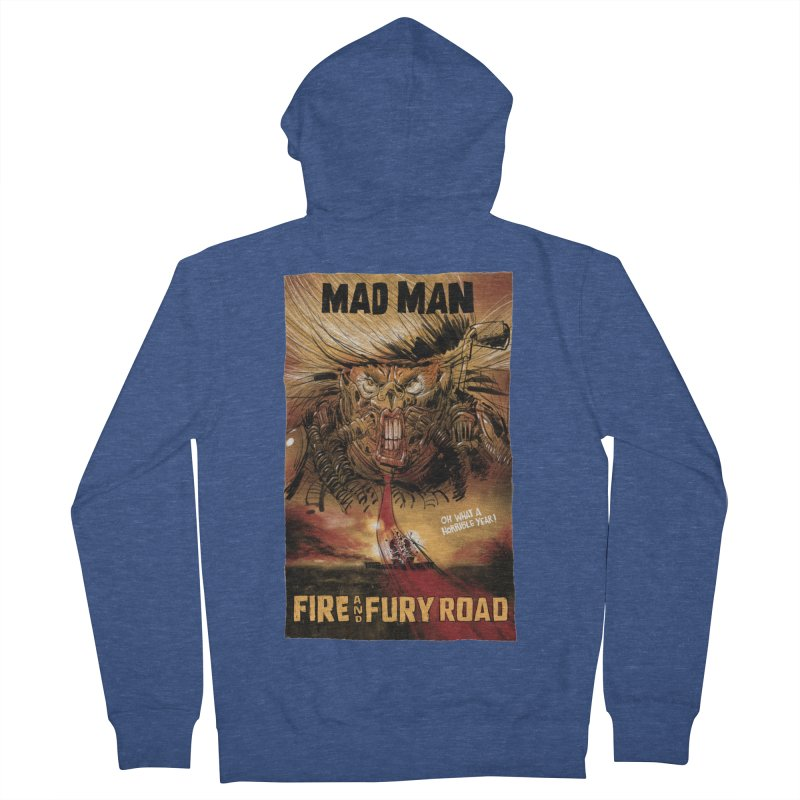 Fire & Fury Road Women's Zip-Up Hoody by stephencase's Artist Shop