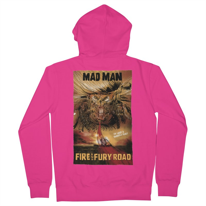 Fire & Fury Road Men's Zip-Up Hoody by stephencase's Artist Shop
