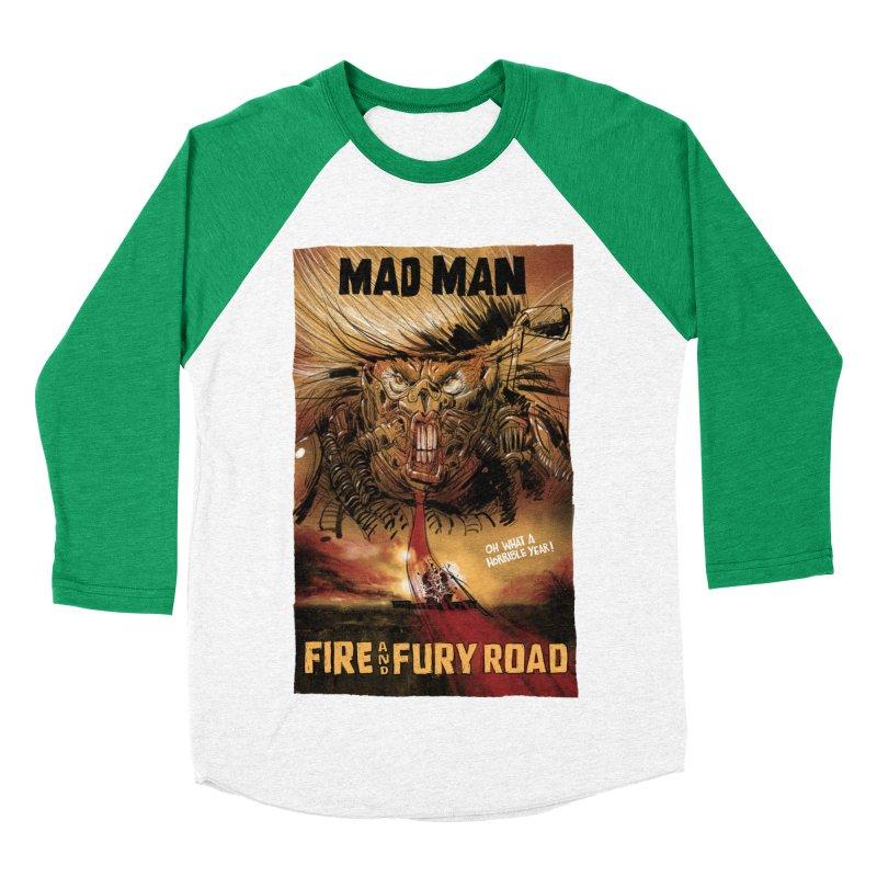 Fire & Fury Road Men's Baseball Triblend T-Shirt by stephencase's Artist Shop