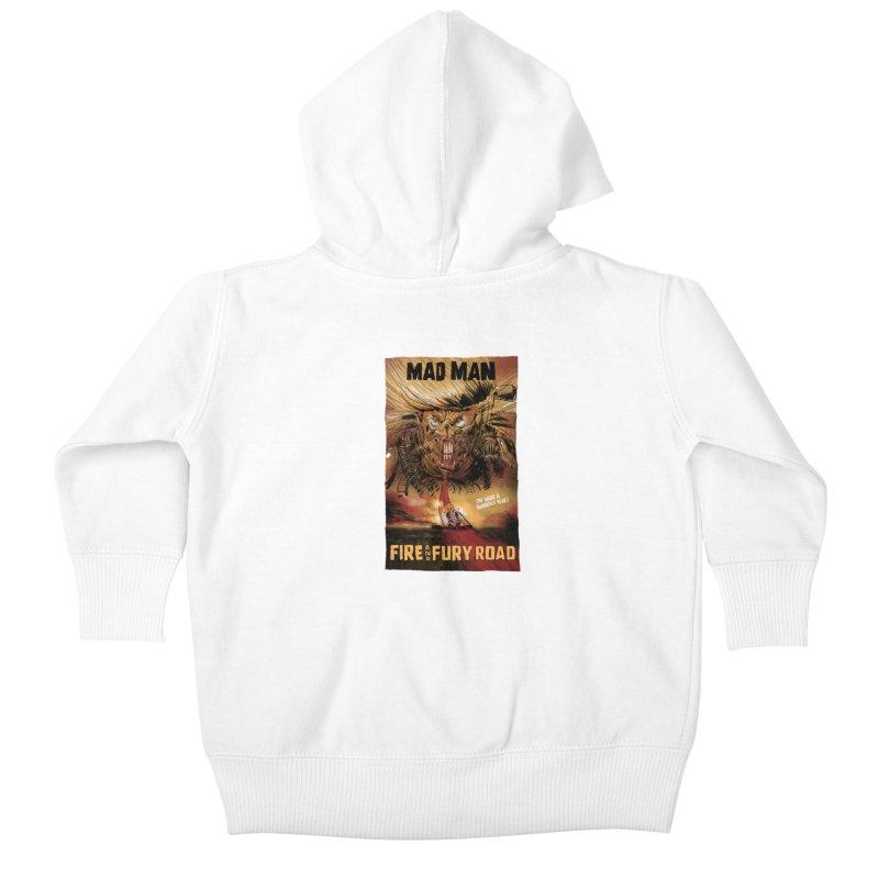 Fire & Fury Road Kids Baby Zip-Up Hoody by stephencase's Artist Shop