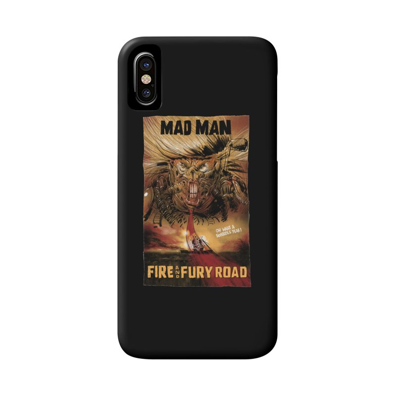 Fire & Fury Road Accessories Phone Case by stephencase's Artist Shop