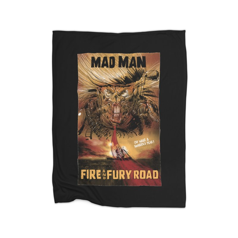 Fire & Fury Road Home Blanket by stephencase's Artist Shop