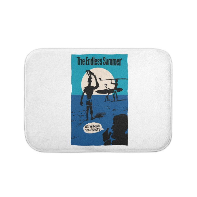 Endless Summer? Home Bath Mat by stephencase's Artist Shop
