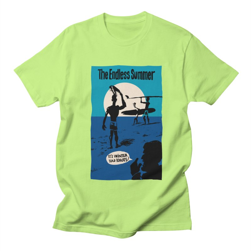 Endless Summer? Men's T-Shirt by stephencase's Artist Shop