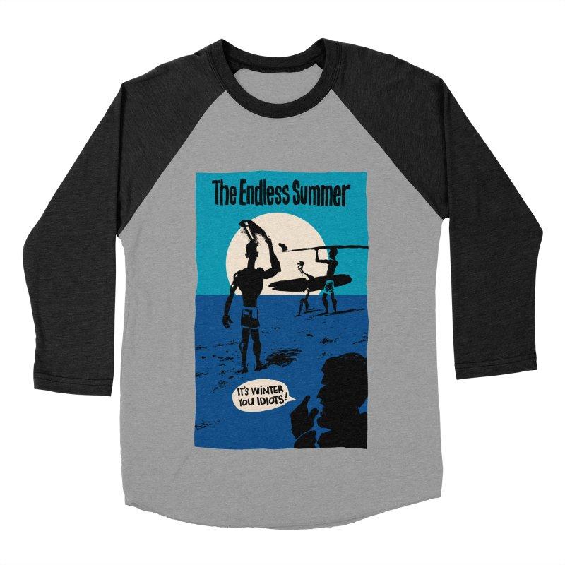 Endless Summer? Women's Baseball Triblend T-Shirt by stephencase's Artist Shop