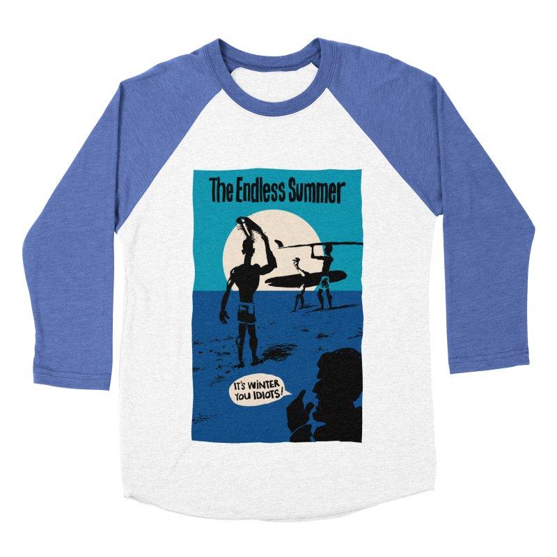 Endless Summer? Men's Baseball Triblend T-Shirt by stephencase's Artist Shop