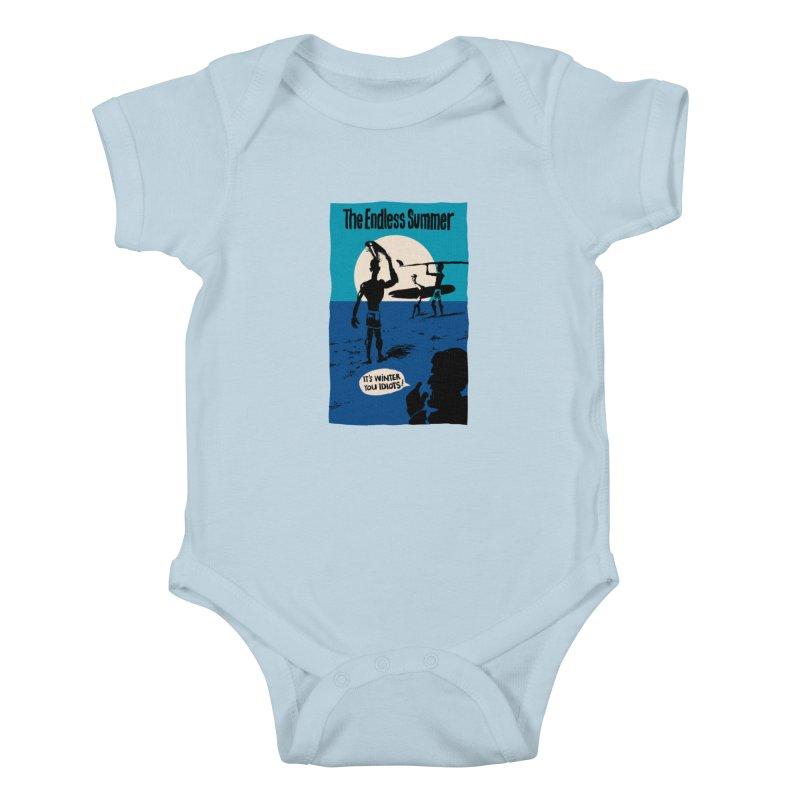 Endless Summer? Kids Baby Bodysuit by stephencase's Artist Shop
