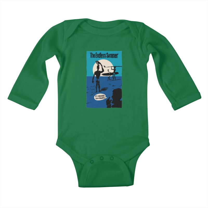 Endless Summer? Kids Baby Longsleeve Bodysuit by stephencase's Artist Shop