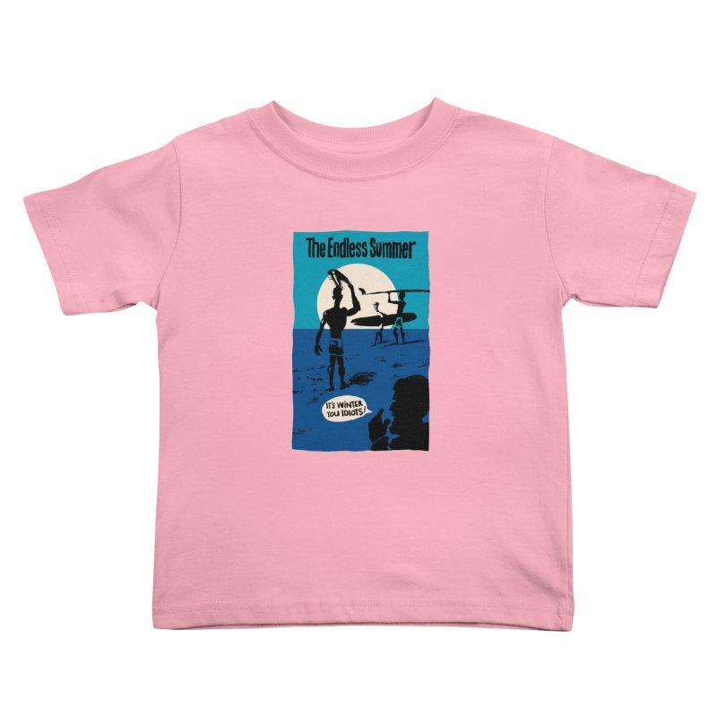 Endless Summer? Kids Toddler T-Shirt by stephencase's Artist Shop