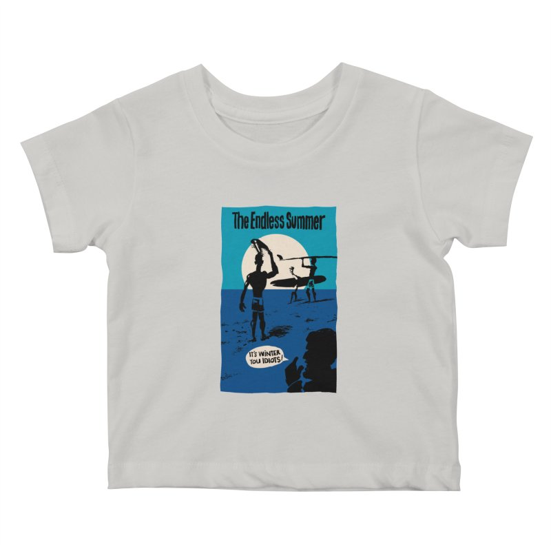 Endless Summer? Kids Baby T-Shirt by stephencase's Artist Shop