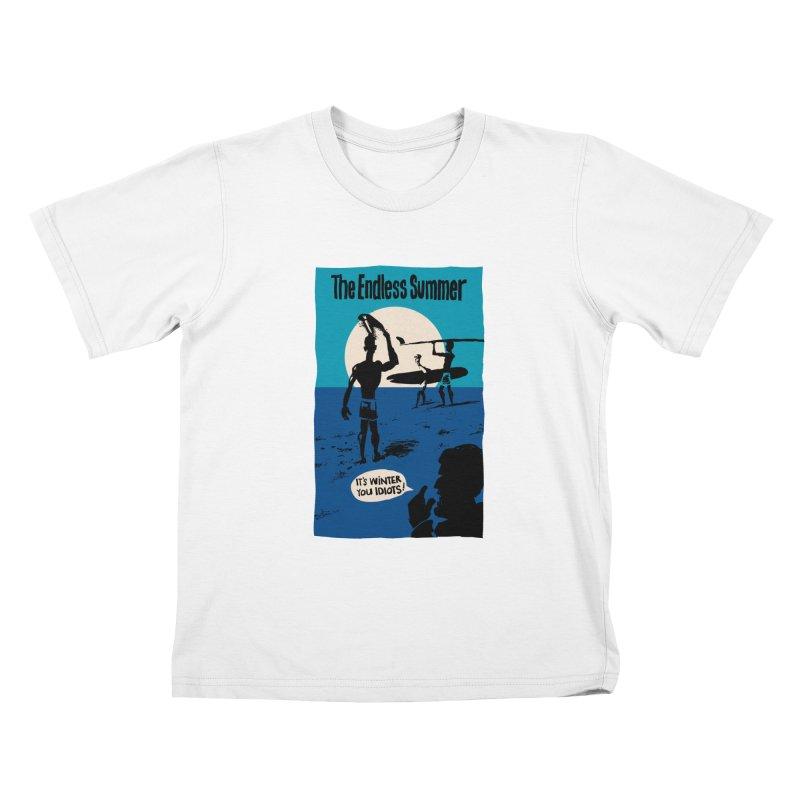 Endless Summer? Kids T-Shirt by stephencase's Artist Shop