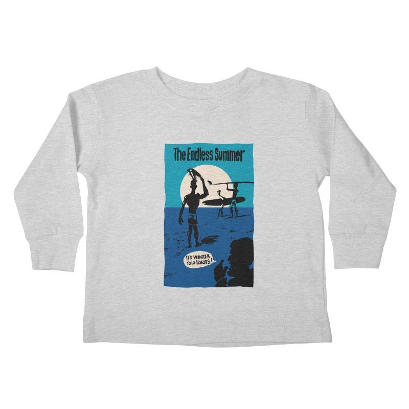 Endless Summer? Kids Toddler Longsleeve T-Shirt by stephencase's Artist Shop