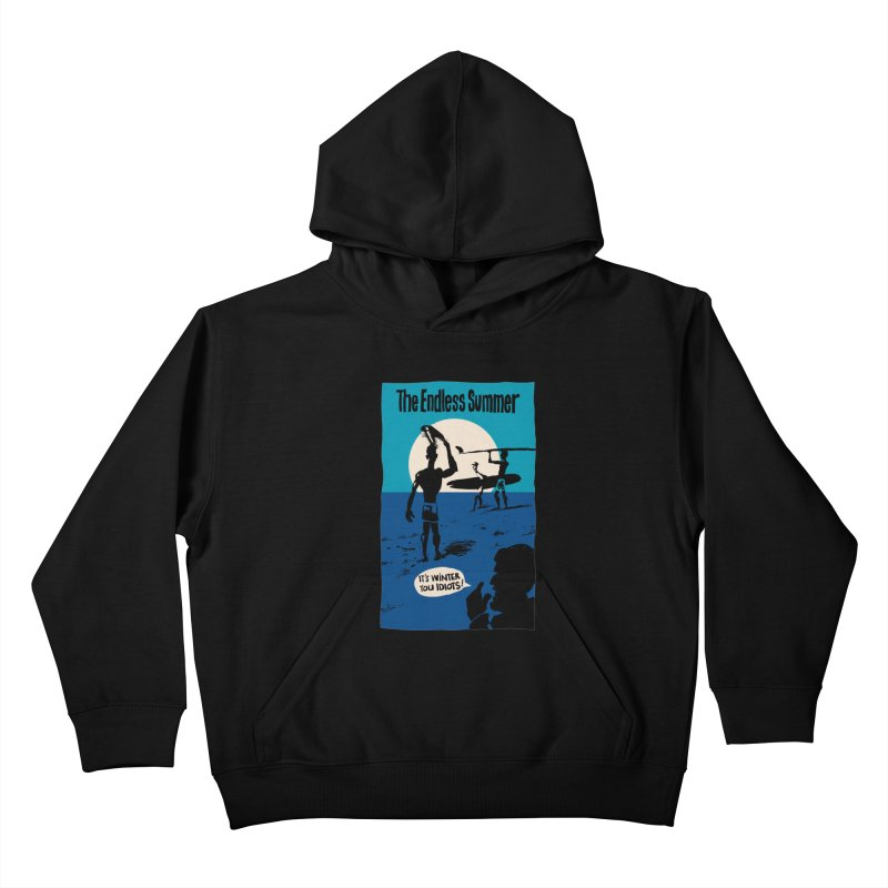 Endless Summer? Kids Pullover Hoody by stephencase's Artist Shop