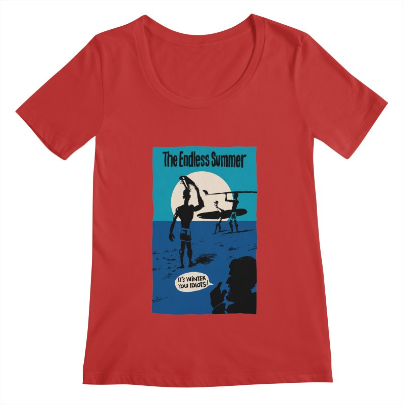 Endless Summer? Women's Scoopneck by stephencase's Artist Shop